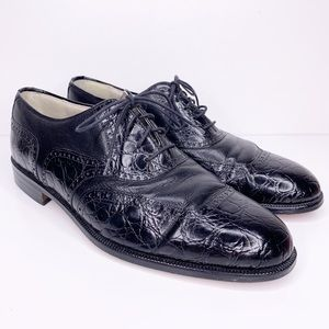 Stacey Adams men's handmade leather dress shoes